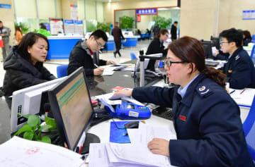 中国、1~4月の減税5245億元に