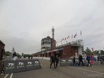 5月29日に続き30日も雨や霧でプラクティス中止に(マン島TTレース2019)