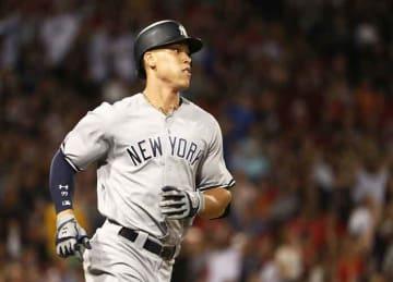 Jackie Bradley Jr. robs Aaron Judge of homer in Yankees/Red Sox doubleheader