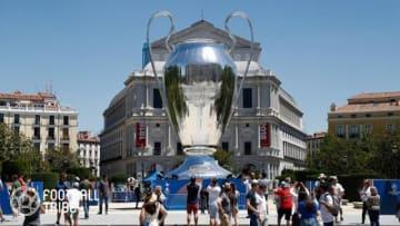マドリードに設置された巨大ビッグイヤー  写真提供:GettyImages