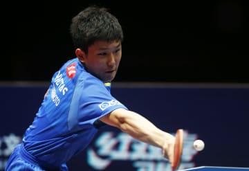 張本智和が4強入り、卓球·中国オープン