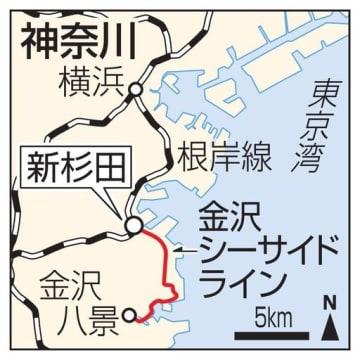 横浜市・新杉田駅、金沢シーサイドライン