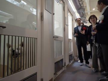 ペットを生かすための設備が整う県動物愛護センター =平塚市