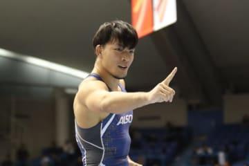 86kg級として初の世界選手権出場を目指す高谷惣亮(ALSOK)