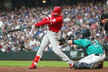 3号本塁打を含む2安打2打点と活躍したエンゼルス・大谷翔平【写真:Getty Images】