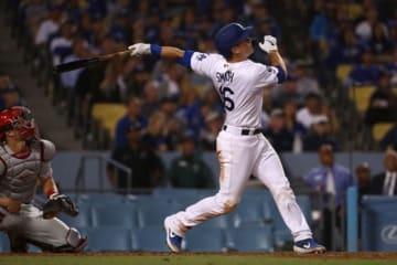 9回にサヨナラ本塁打を放ったドジャースのウィル・スミス【写真:Getty Images】