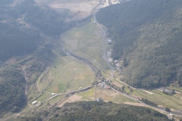 石木ダム建設予定地
