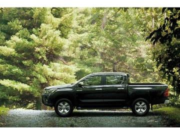 トヨタがミャンマーに設立するToyota Myanmar Co., Ltd.で生産を開始するピックアップ、ハイラックス
