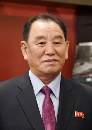 北朝鮮の金英哲朝鮮労働党副委員長(ロイター=共同)