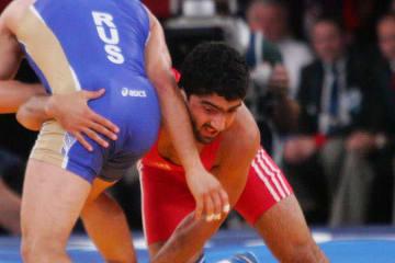 74kg級で欧州大会に出場するトグルル・アスガロフ(アゼルバイジャン)
