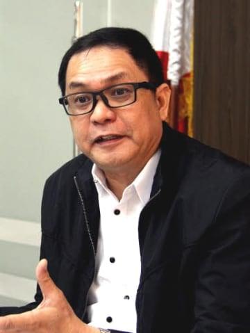 「特定技能でやっとフィリピン人労働者が一人前扱いしてもらえるようになった」と話すオラリア長官