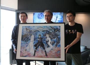 上海で天野喜孝氏の作品展開催 「FFⅩⅤ」スマホ版開発計画も発表