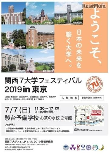関西7大学フェスティバル2019 in 東京