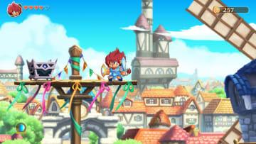 PC版『モンスターボーイ 呪われた王国』が7月25日にリリース決定―『モンスターワールド』西澤龍一氏手掛けたアクションADV
