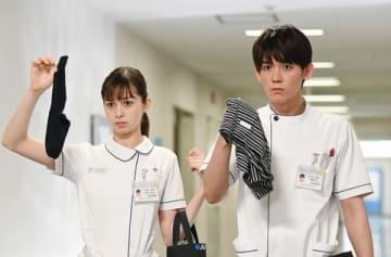連続ドラマ「白衣の戦士!」の第8話の一場面=日本テレビ提供
