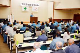 労災ゼロを誓った東海建設の安全大会