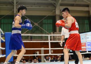 昨年のアマチュアボクシング全日本選手権。プロのファイターはどこまで通用するか