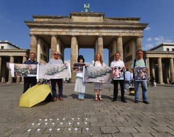 Brandenburg gate in Berlin. Photo: Eva Quistorp.
