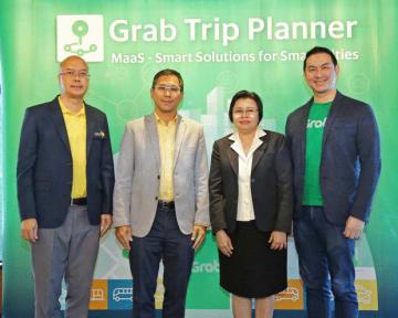 グラブ・タイランドは、チェンマイで電動トゥクトゥクの配車サービスを開始したと発表した(同社提供)