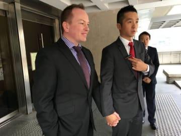 Scott Adams and Angus Leung. File photo: Citizen News.