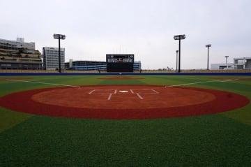 夏の千葉大会で初めて使用される浦安市運動公園野球場
