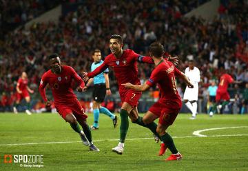 C・ロナウドの活躍でポルトガルが決勝進出を果たす