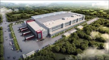 新たに建設する天津工場のイメージ図