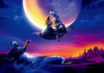 映画「アラジン」のビジュアル (C)2019 Disney Enterprises, Inc. All Rights Reserved.