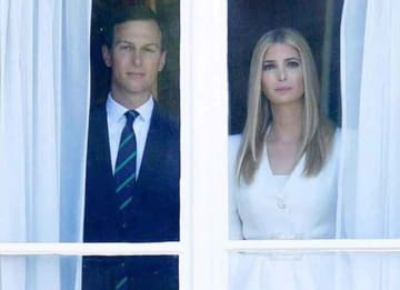 Creepy Jared Kushner & Ivanka Trump Photo Inspires New Jordan Peele Movie [Best Memes]