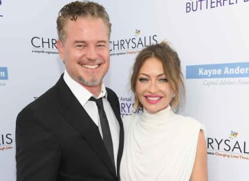 LOS ANGELES, CA - JUNE 03: Actor Eric Dane (L) and Chrysalis Butterfly Ball Co-chair Rebecca Gayheart-Dane at the 16th Annual Chrysalis Butterfly Ball on June 3, 2017 in Los Angeles, California. (Photo by Matt Winkelmeyer/Getty Images for...
