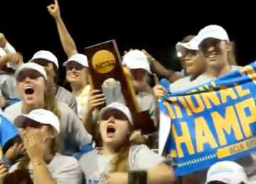 UCLA win women's national softball tournament 2019