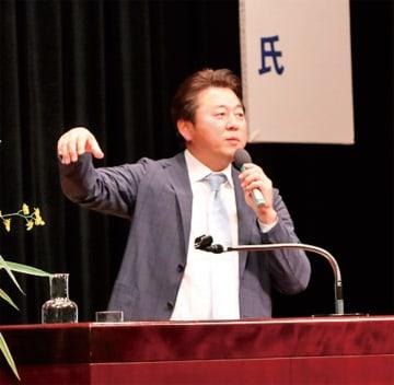 軽妙なトークで会場を沸かせた舞の海秀平さん