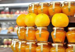 世界一の称号を得たマーマレード「初夏香るさわやか鳴門オレンジコンフィチュール」=洲本市塩屋2