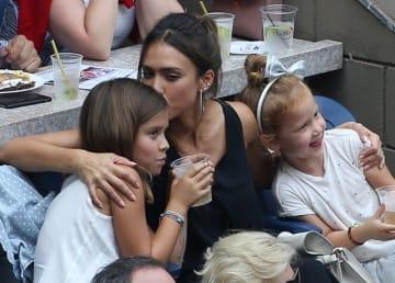 プライベートな時間を長女オナーちゃん、次女ヘイヴンちゃんと過ごすジェシカ。 - Jean Catuffe / GC Images / Getty Images