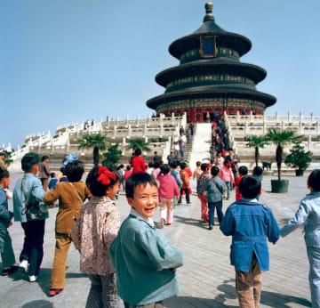 日本の写真家の目に映った中国の子どもたち