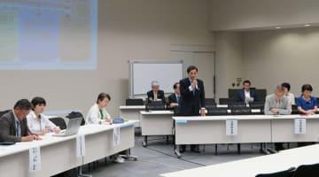 原発ゼロ基本法案の審議入りを求める野党の決起集会=7日午後、東京都内