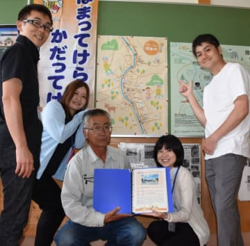 住民が集える場所を紹介する陸前高田市横田町の「はまかだMAP」