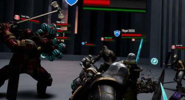 VRマルチプレイCo-op剣戟ACT『ソード・オブ・ガルガンチュア』Steam/Oculus Store配信開始!