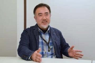 GLOCOM客員研究員の境真良氏(2019年4月/弁護士ドットコム撮影/東京)