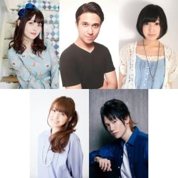6月10~14日の「ZIP!」で日替わりでナレーションを担当する(上段左から)上坂すみれさん、木村昴さん、佐倉綾音さん、(下段左から)加藤英美里さん、KENNさん