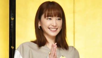 「第37回向田邦子賞」の贈賞式に登場した新垣結衣さん (C)東京ニュース通信社