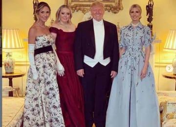 Trump Family at Buckingham Palace