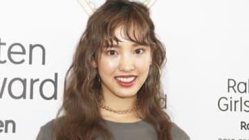 ファッション&音楽イベント「Rakuten GirlsAward 2019 SPRING/SUMMER」に出演し取材に応じた飯窪春菜さん
