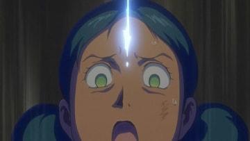 テレビアニメ「機動戦士ガンダム THE ORIGIN 前夜 赤い彗星」の第7話「ララァとの出会い」の一場面(C)創通・サンライズ