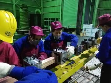 次世代制御核融合研究装置の据え付け開始 四川省成都市