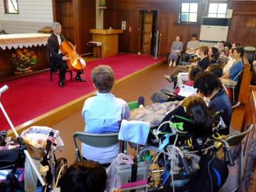 人工呼吸器を使うなどコンサートへ行きづらい人のための演奏会(京都市上京区・カトリック西陣聖ヨゼフ教会)