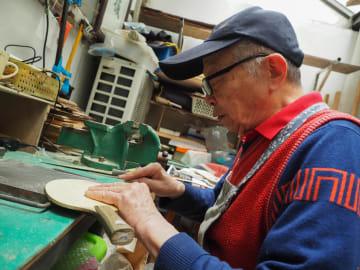 卓球ラケット職人40年 二つの発明で挑む性能改善