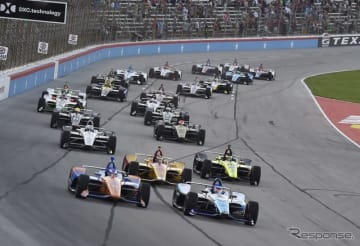 #30 琢磨は先頭スタートからレースをリードしていったが…。
