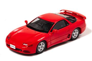 三菱 GTOのの中期型が1/43ミニチュアカーで登場 三菱 GTO ツインターボ (Z16A) 1993 Passion Red