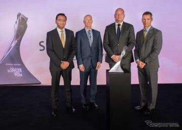 BASFが14回目となるGMのサプライヤー・オブ・ザ・イヤーを受賞